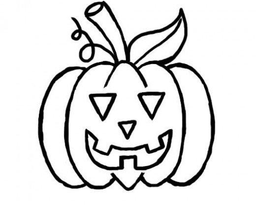Drawn pumpkin fun halloween Step A Pumpkin to How