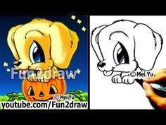 Drawn pumpkin fun halloween Pumpkin HALLOWEEN to Dog Golden
