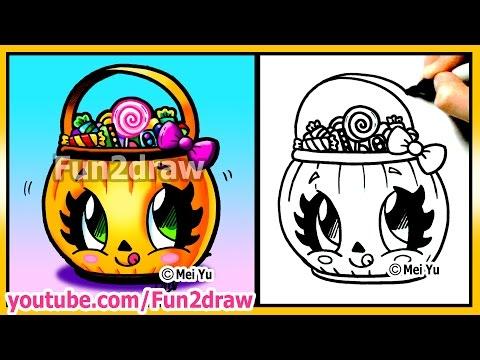 Drawn pumpkin fun2draw Stuff Bucket Candy Stuff Pictures
