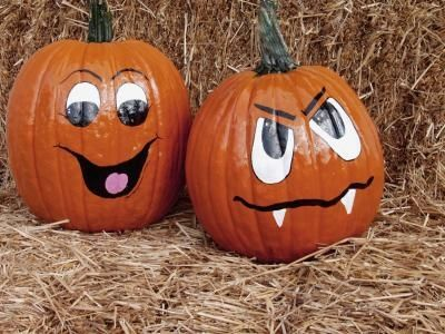 Drawn pumpkin funny Best faces to on Kids