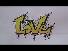 Drawn pumpkin graffito  graffiti 50 letters for