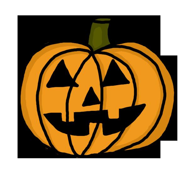 Drawn pumpkin halloween art Pumpkin by Clipart a Images