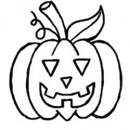 Drawn pumpkin halloween art For A Simple Pumpkin A