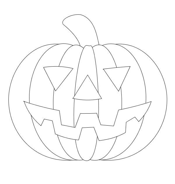 Drawn pumpkin halloween art Drawing – Festival Halloween (06)