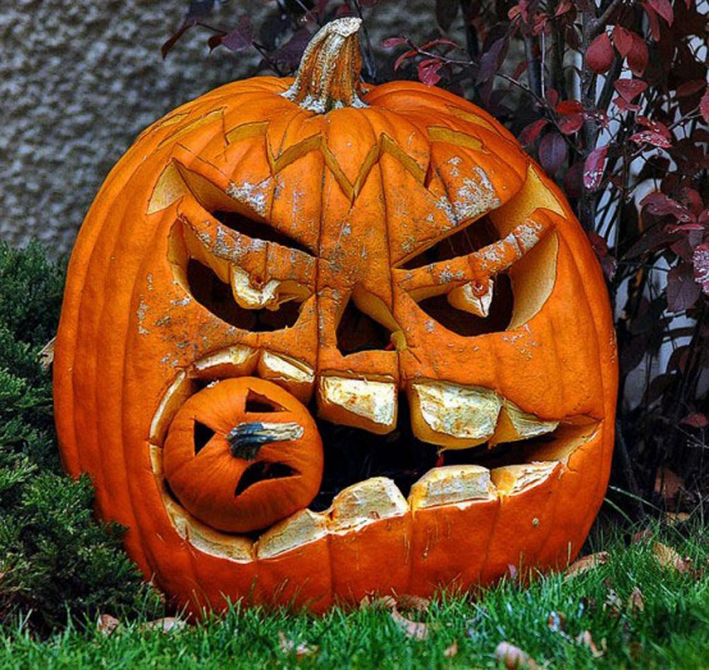 Drawn pumpkin halloween decoration Ideas  Pumpkin Pumpkin Halloween