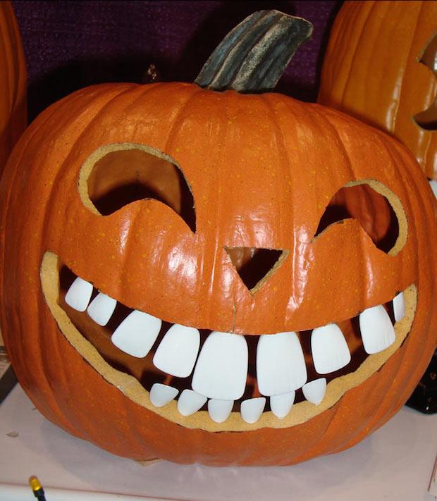 Drawn pumpkin halloween decoration Decor carving diy pattern halloween