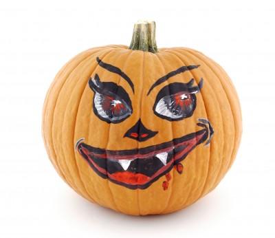 Drawn pumpkin halloween decoration Expert decorated Decorating Children's Pumpkin