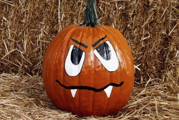 Drawn pumpkin marker To pumpkins carving Use With