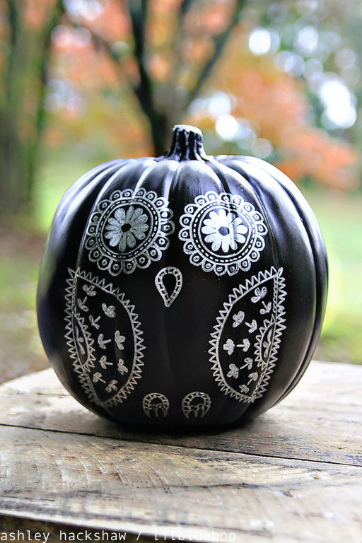 Drawn pumpkin marker A with How  Decorating