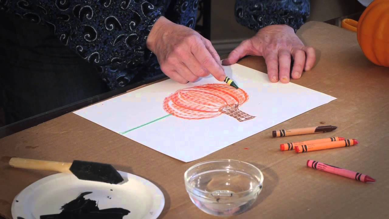 Drawn pumpkin nursery class Classroom YouTube Ideas for Painting