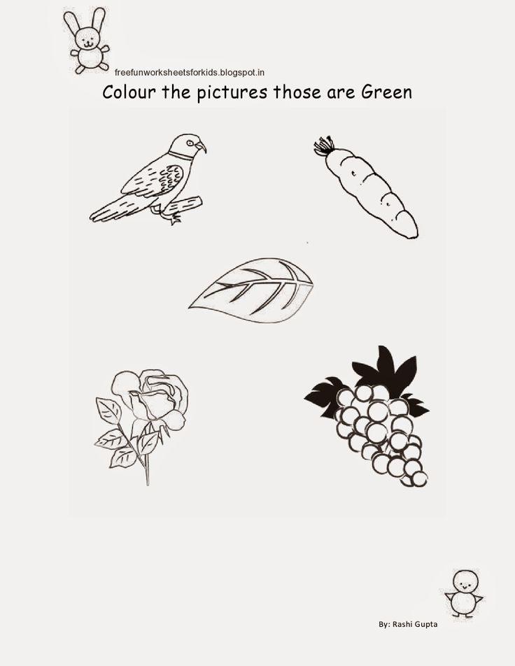 Drawn pumpkin nursery class Fun Nursery Worksheets Class Kids: