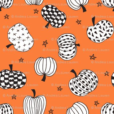 Drawn pumpkin october October halloween hand fall pumpkins