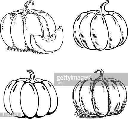 Drawn pumpkin pencil 21 Google pumpkin Search images