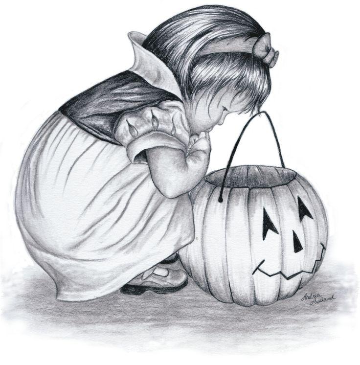 Drawn pumpkin pencil 19 23689wall Halloween gif Halloween