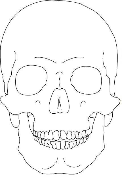 Drawn pumpkin plain By ideas Vicious skull Best