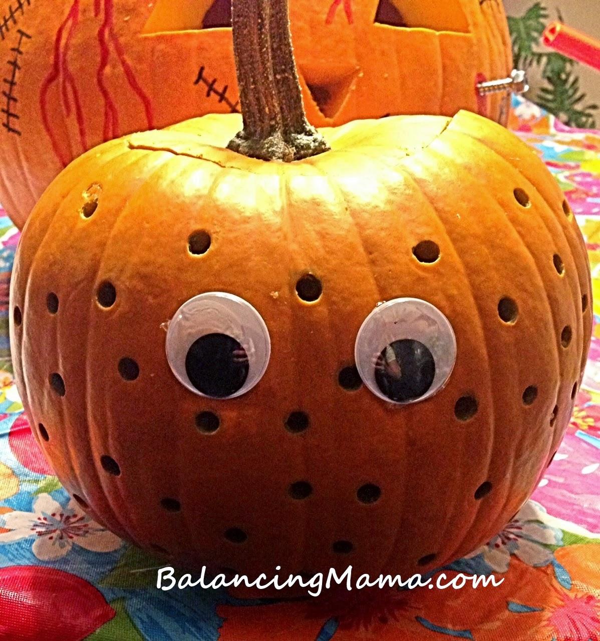 Drawn pumpkin plain Finished dots the My I