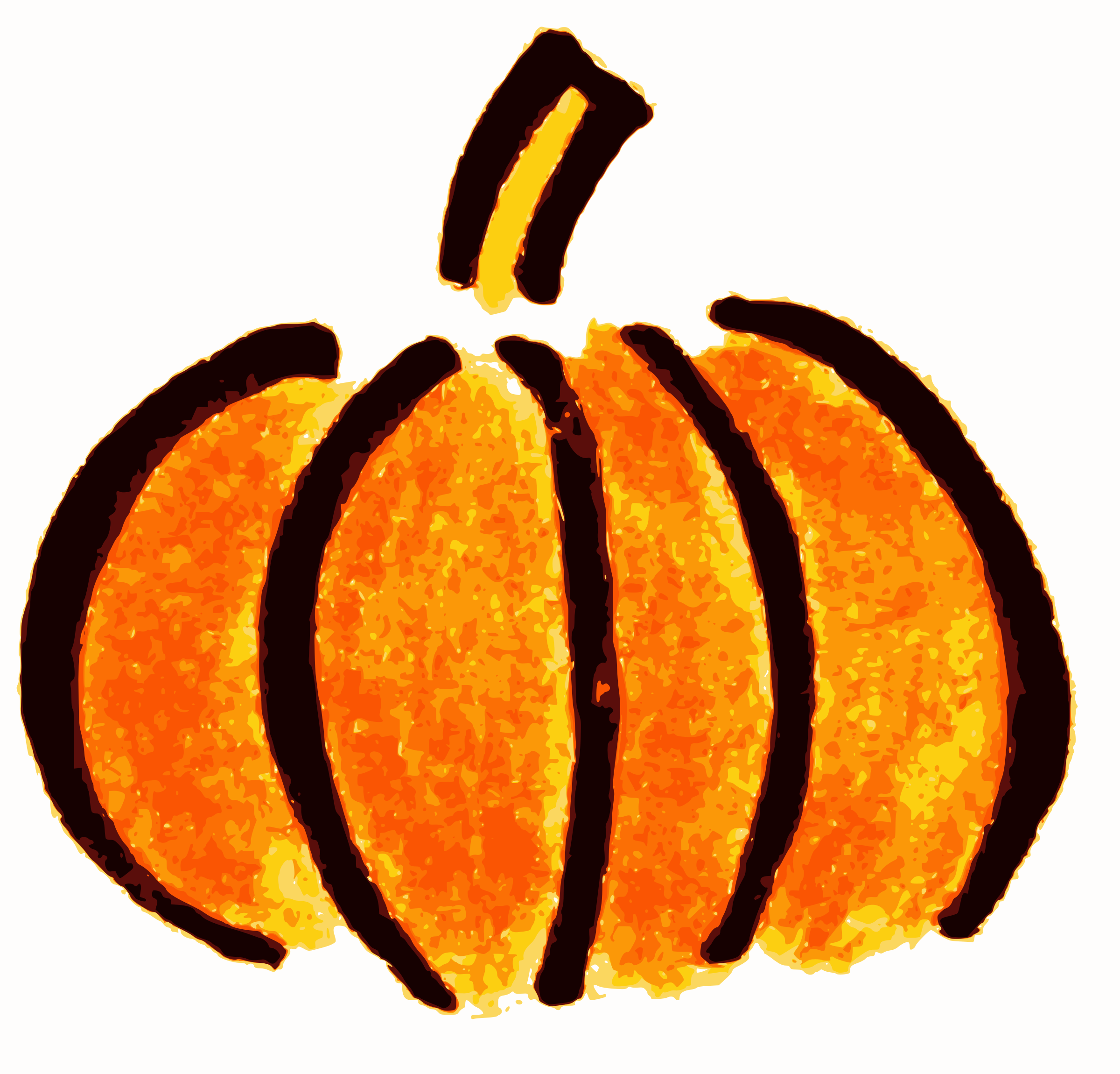 Drawn pumpkin plain Clipart Clipart clipart Hand drawn