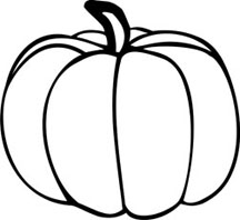 Drawn pumpkin plain Clip Images Art Clipart Clipart