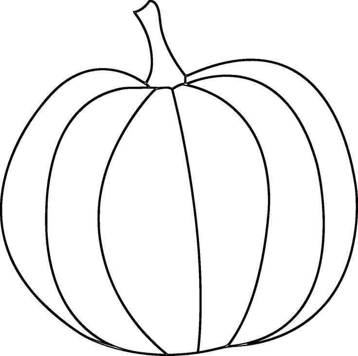 Drawn pumpkin printable Pinterest will template you Fall