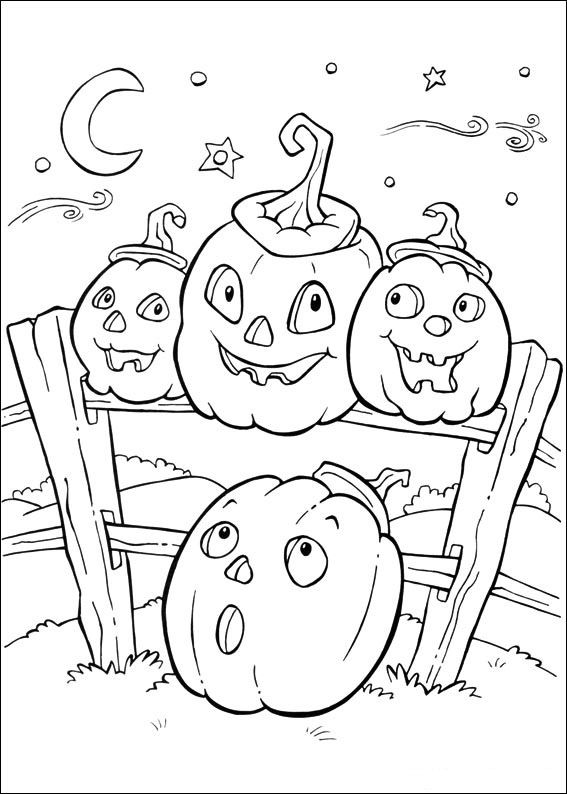 Drawn pumpkin printable Ideas Coloring 25+ on Halloween+Coloring+Pages