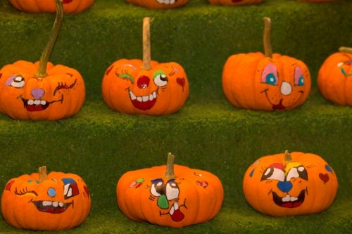 Drawn pumpkin pumpkin face Detail Pumpkin Fine Painted Faces