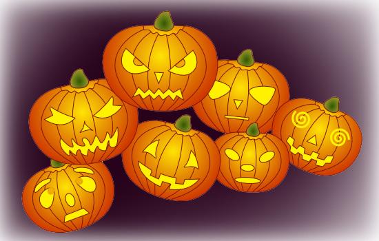 Drawn pumpkin pumpkin face Drawing  Faces Pumpkin