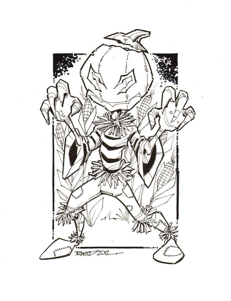 Drawn pumpkin pumpkin head Rantz Halloween rantz by HEAD