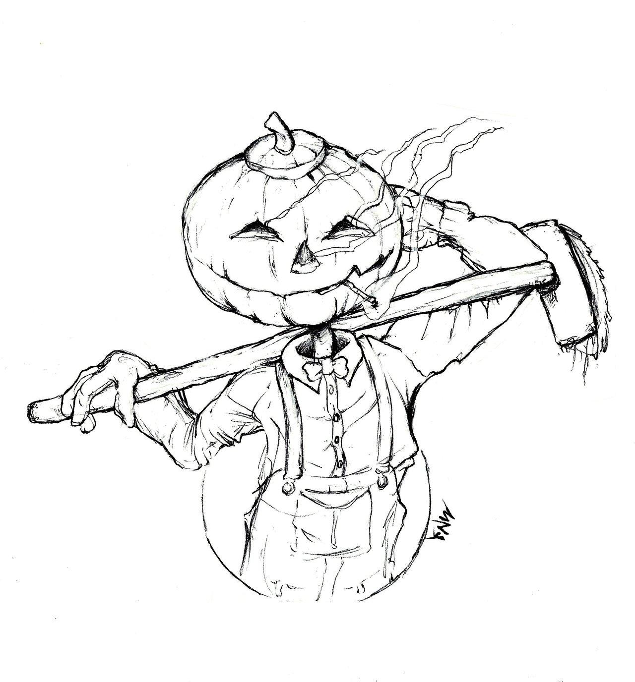 Drawn pumpkin pumpkin head Pumpkinhead Pumpkinhead Merv Merv ayelid