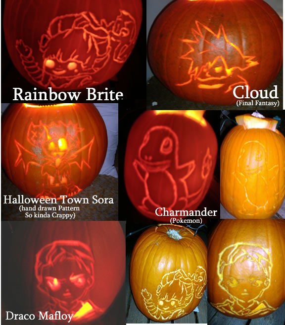 Drawn pumpkin rainbow Hearts Kingdom Hearts Pokemon Designs