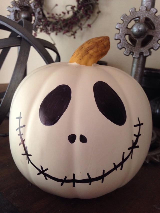 Drawn pumpkin sharpie Nose (permanent) sharpie Make Pumpkin