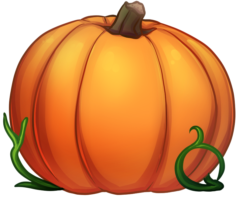 Drawn pumpkin squash O' you may the the