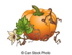 Drawn pumpkin squash Clipart Big royalty on and