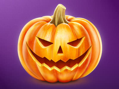 Drawn pumpkin themed Scary Graphics Themed 30+ Inspiration