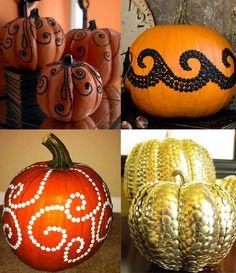 Drawn pumpkin thumbtack Pinterest Thumbtack decoration Pumpkins