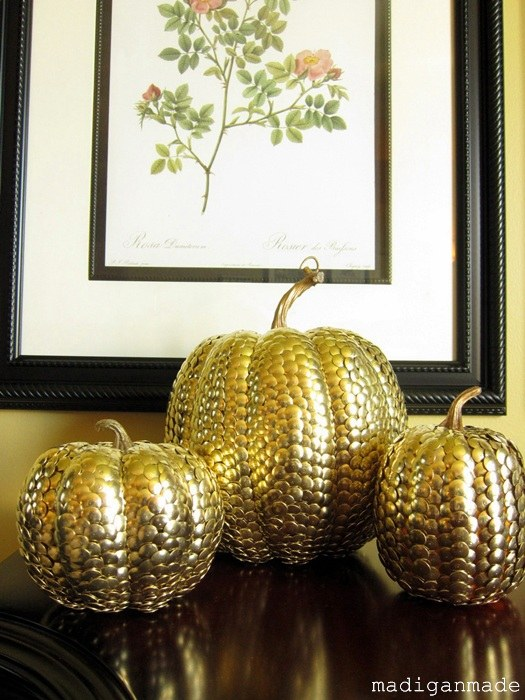 Drawn pumpkin thumbtack Fall  Pumpkins Gold Rosyscription