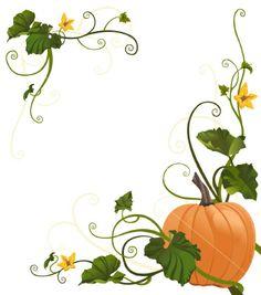 Drawn pumpkin vine Image designs Vine clip ivy