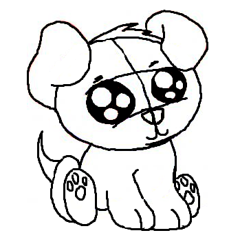 Drawn puppy Enternalwinter My DeviantArt drawn puppy