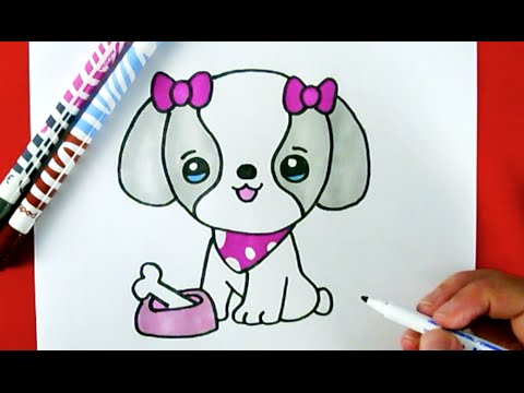 Drawn puppy adorable puppy To A Draw PUPPY How