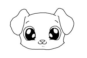 Drawn puppy adorable puppy To Cute Draw Draw Cute
