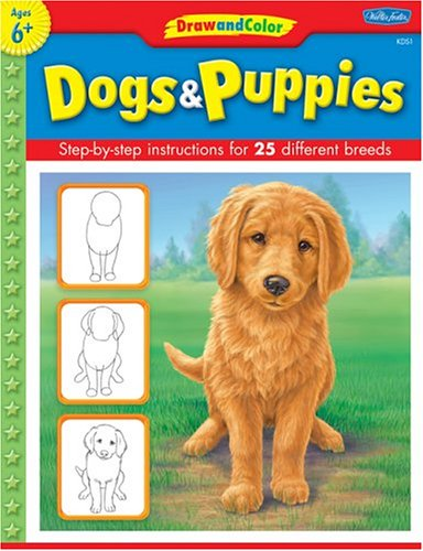 Drawn puppy beginner kid To learn beginners and to