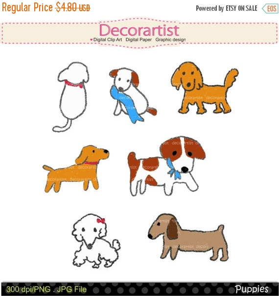Drawn puppy clip art From puppy art art clip