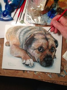 Drawn puppy coal By puppy to  a