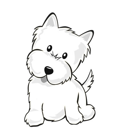 Drawn puppy color For Color Printables Imgs Drawing