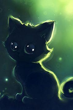 Drawn puppy cute anime kitty Cute 40 se muito Donskis