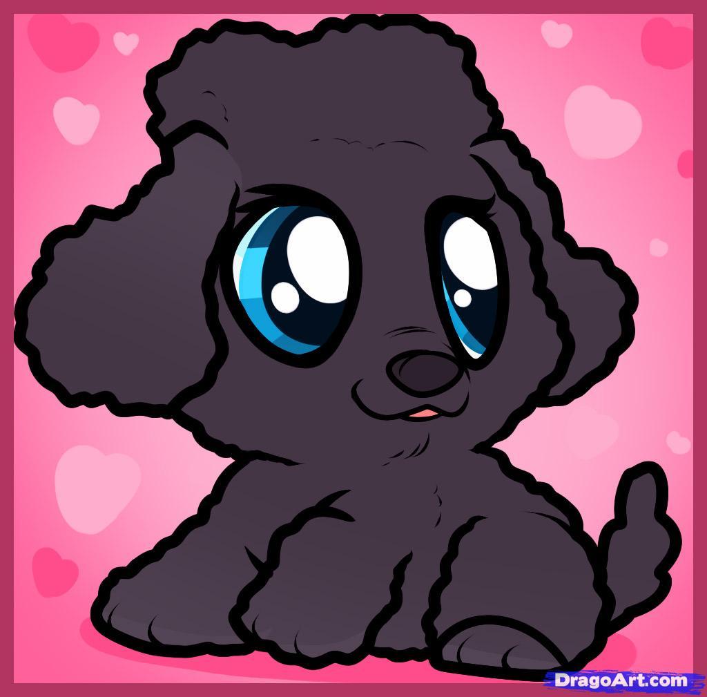 Drawn puppy dragoart A Puppy poodle  how