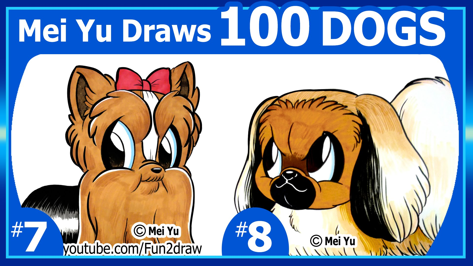 Drawn puppy fun2draw 100 DRAWINGS Cute  Yu