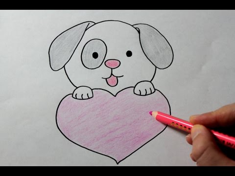 Drawn puppy puppy love Draw a Love with Love