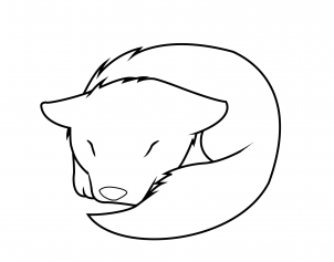 Drawn puppy sleeping Wolf Clip How  Drawings