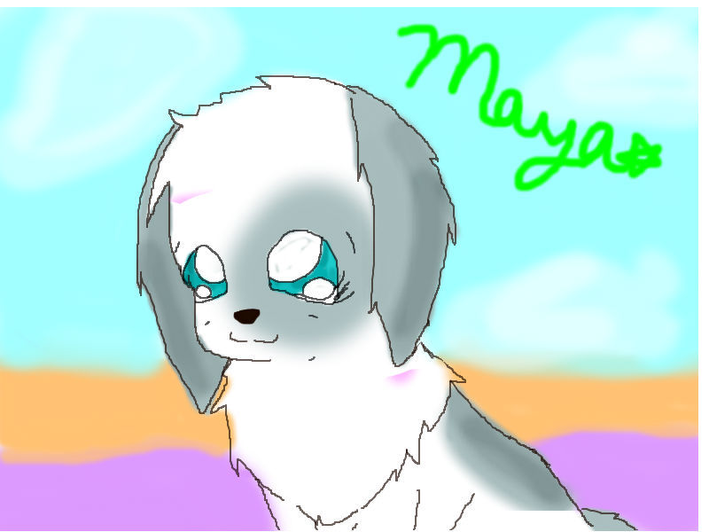 Drawn puppy webkinz The on style) drawing by