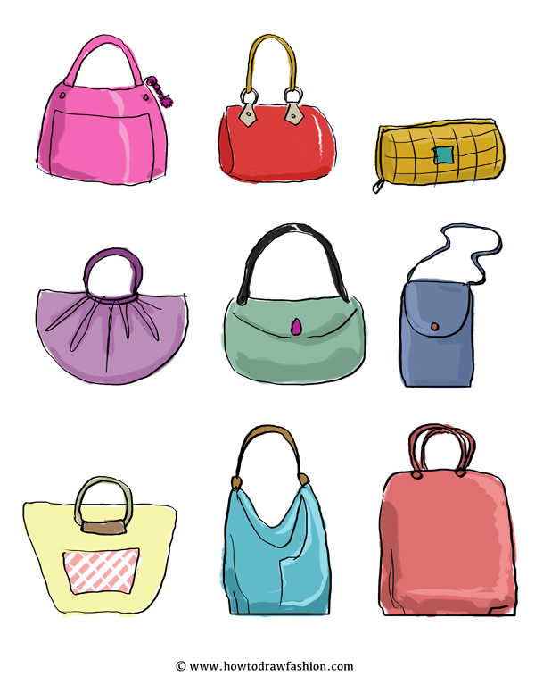 Drawn purse Or  ideas the Draw